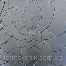 """Форма для гипсовой плитки """"Лотос"""", фото 3"""