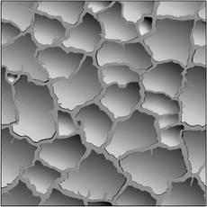 """Форма из АБС пластика для гипсовой 3д плитки """"Сахара"""", фото 3"""