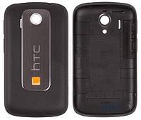 Задняя часть корпуса (крышка аккумулятора) HTC Explorer A310e Black