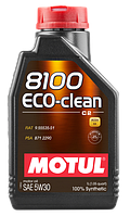 Моторное масло Motul 5W-30 8100 Eco-Clean 1л