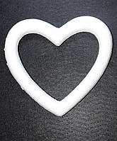 """Пенопластовая форма """"Сердце-контур"""""""