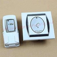 Одно-канальный настенный дистанционный выключатель + батарейка для пульта А23 (12 Вольт)
