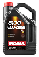 Моторное масло Motul 5W-30 8100 Eco-Clean 5л