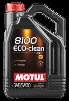 Моторное масло Motul 5W-30 8100 Eco-Clean 5л