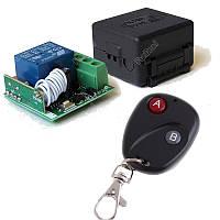 Одно-канальный универсальный дистанционный выключатель на 12 Вольт с таймером