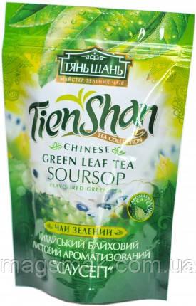 Чай Тянь Шань зеленый Саусеп, листовой, 80 г, фото 2