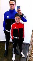 """Детский подростковый спортивный костюм двухнить 4017 """"Adidas Style"""" в расцветках"""