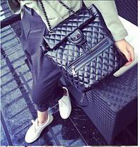Стьобані дуті рюкзаки для модних дівчат, фото 3