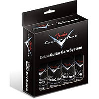 Набор по уходу за гитарой Fender Custom Shop Deluxe Guitar Care System 4 Pack