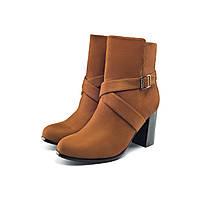 Ботильоны женские Elegance, светло-коричневые, фото 1