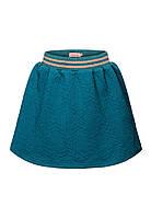 Трикотажная юбка для девочки, цвет «темная лазурь»