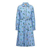 Платье с набивным рисунком, цвет светло-голубой, фото 1