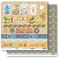 Бумага для скрапбукинга Mediterranean Dreams, Cards 2, 30х30 см, фото 1