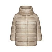 Утепленная куртка, цвет бежевый