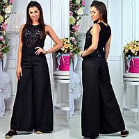 """Стильные женские широкие брюки 079 """"Клёш"""" в расцветках"""