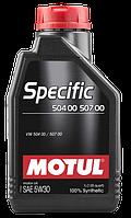 Моторное масло Motul 5W-30 Specific VW 1л