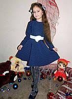 """Детское нарядное платье 033 """"Горошинка"""""""