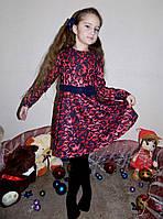 """Детское нарядное платье 034 """"Барби"""" в расцветках"""