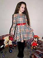"""Детское стильное платье 035 """"Барберри"""""""