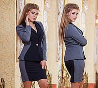 """Элегантная женская короткая юбка 617 """"PODIUM"""""""