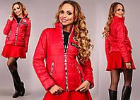 """Женская стильная куртка демисезон в больших размерах 717-1 """"SNOW"""" в расцветках"""