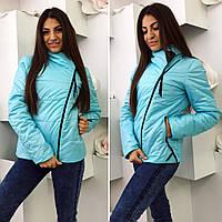 Женская стильная куртка демисезон 714