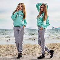 """Стильный женский спортивный костюм двухнить 830-1 """"Silver Angel"""" в расцветках"""
