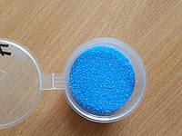 Кварцевый песок 50грамм голубой