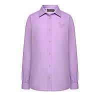 Блузка для девочки, цвет фиолетовый
