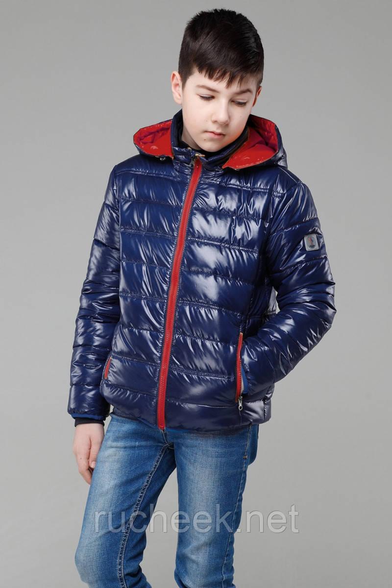 Куртка для мальчика Дени, размеры 116-158,  Украина