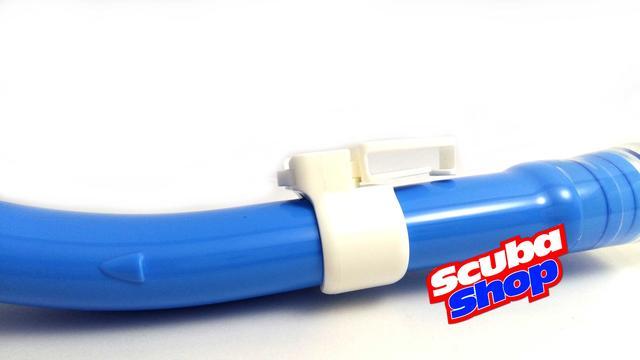 Трубка Cressi-Sub Tao Dry Blue для подводного плавания