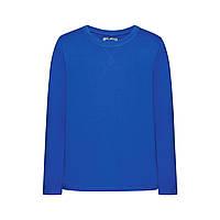 Трикотажная футболка для мальчика, цвет ярко-синий, фото 1