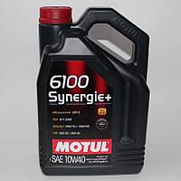 Моторное масло Motul 10W-40 6100 Synergie+ 5л