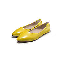Балетки «Фиеста», цвет желтый
