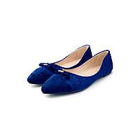 Балетки «Мираж», цвет синий