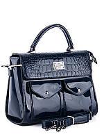 Женская сумка лаковая S321 Женские сумки рюкзаки и клатчи Kiss Me опт розница дешево Одесса 7 км