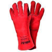 Перчатки краги сварщика (красные) Sigma (9449301)