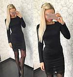 Женское платье с кружевом, разные цвета, фото 4