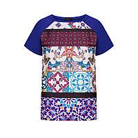 Трикотажная блузка, цвет темно-сиреневый, фото 1