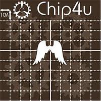Чипборд Крылья ангела