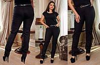 """Женские стильные брюки в больших размерах 214 """"Алекс Ремешок"""""""