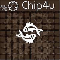Чипборд Знак зодиака рыбы