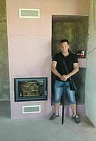 Каминная топка: Gavryliv&Sons B700x520 Изоляционный короб : PAROC Fireplace Slab 90   Дата: март 2017