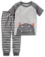 Набор для мальчика (штанишки + футболка) арт.229G617 (Carters) 9М