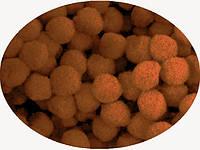 Помпон коричневый, 1.5 см, 50 штук