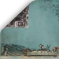 Бумага для скрапбукинга Time to Dream, Чаепитие, 30х30 см