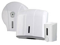 Набор для туалетной комнаты: дозатор мыла, держатель бумажных полотенец и держатель туалетной бумаги