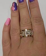Кольцо из серебра и золота Источник