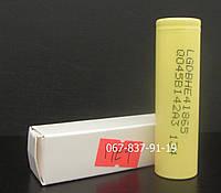 Аккумулятор высокотоковый 18650 LG-HE4, 2500 мАч, батарея для электронной сигареты