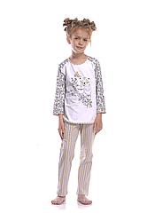 Пижама для девочки  GNP 024/001 (ELLEN). Новинка осень-зима 2018
